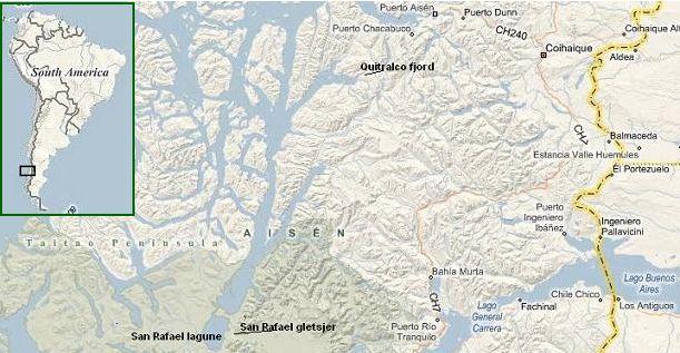 Chili fjorden en gletsjers in ais n - Eilandjes bad ...