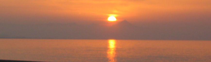 Afbeeldingsresultaat voor ondergaande zon denia