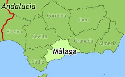 Spanje Andalusie Startpagina