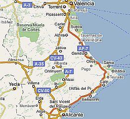 Onwijs Spanje - Alicante - Torrevieja - Orihuela - Tabarca FT-76