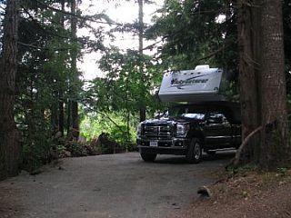 canada per camper telegraph cove alert bay. Black Bedroom Furniture Sets. Home Design Ideas