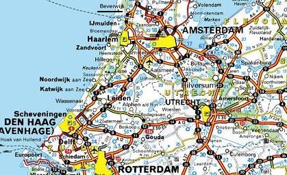 holland karte scheveningen Niederlande   Den Haag   Scheveningen